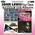 Four Classic Albums (At Music Inn Vol.2/Odds Against Tomorrow/The John Lewis Piano/Odds Againt Tomorrow - Soundtrack) by John Lewis/The Modern Jazz Quartet (CD, Jul-2010, Acid Jazz (USA))