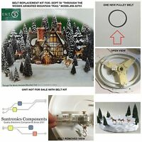 Dept 56 -through The Woods Mountain Trail Model56.52791 Replacement Belt Kit