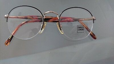 Disciplinato Enrico Coveri Occhiali Donna Women Glasses Fmg Modello 374 _ 610 47-20/140-mostra Il Titolo Originale Elevato Standard Di Qualità E Igiene