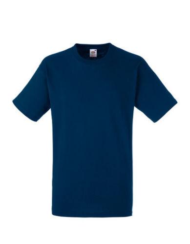 Fruit of the Loom F182 Heavy Cotton T-Shirt Men/'s 10er Pack Work Shirt Work