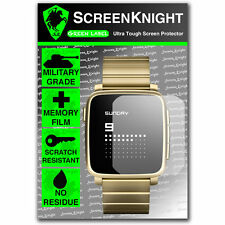 ScreenKnight Pebble Time Steel Smart Watch SCREEN PROTECTOR invisible shield