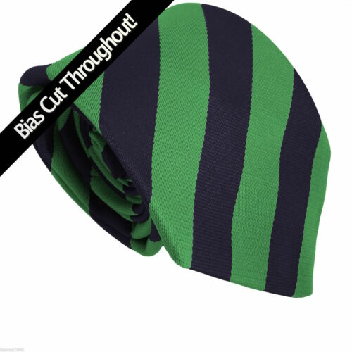 only suitable for Schools High Senior School Block Equal Stripe Striped Tie