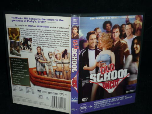 1 of 1 - OLD SCHOOL UNCUT (DVD, MA 15+)