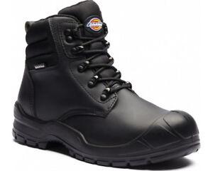 Dickies Trenton Bottes De Sécurité Homme Steel Toe Cap Travail Industriel Chaussures-afficher Le Titre D'origine