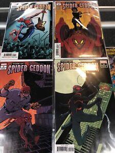 Edge of Spider-Geddon 1-4 1 2 3 4 Spider-Man VF-NM Lot Set Run