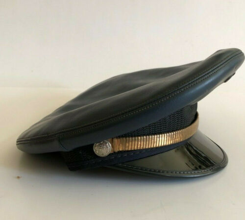Vintage 5 Star Midway faux leather Motorcycle poli