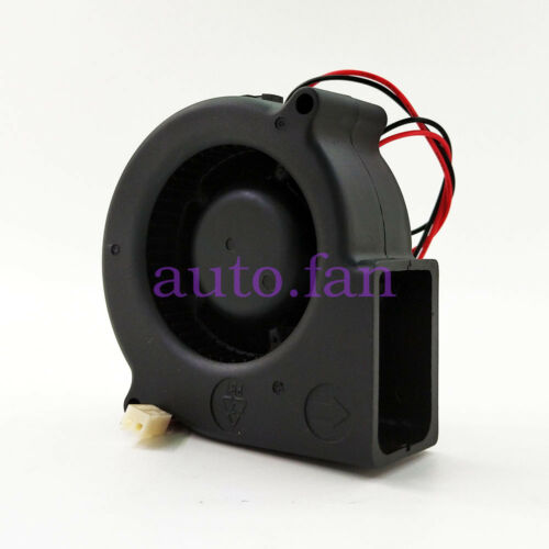 For ADDA projector fan AD7524UB 75*30MM DC 24V instrument volute fan