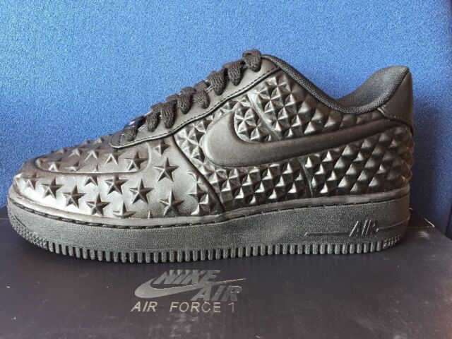 wholesale dealer fb6c1 d8c9c Frequently bought together. Nike Air Force 1 LV8 VT Triple Black 14 Independence  Day ...