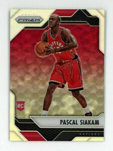 2016-17-Panini-Prizm-PASCAL-SIAKAM-Rookie-Card-RC-SILVER-REFRACTOR-220-Raptors
