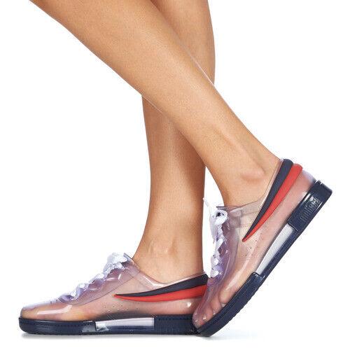 New FILA Melissa Sneaker + FILA Ad Clear bluee Red shoes 6, 7, 8, 9, 10 USA
