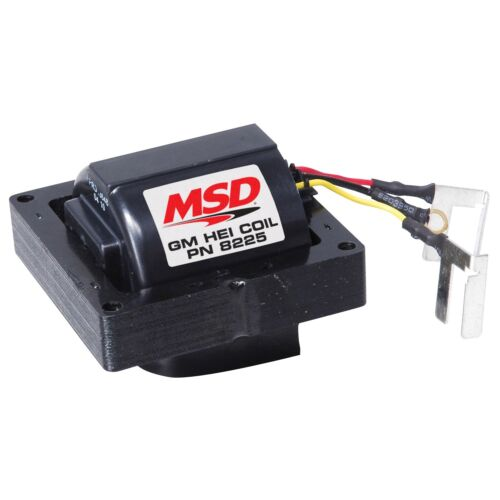 MSD 8225 HEI Heat Ignition Distributor Coil In Cap GM Chevy 42,000 Volt SBC BBC