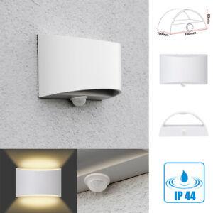 Lampara-Exterior-Sensor-de-Movimiento-Fassaden-Wandleuchte-Pared-IP44-LED