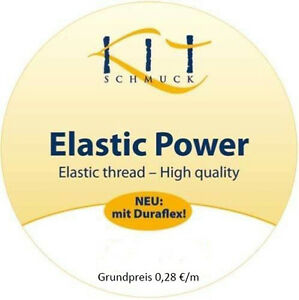 Elastic Power Elastikfaden 25 m (Grundpreis 0,28 €/m)