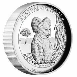 Australian-Koala-2017-1oz-Silver-Proof-High-Relief-Coin