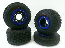 Hiper CF1 Beadlock Rims Maxxis XM MX Tires Front/Rear MX Kit Honda TRX 400EX 400