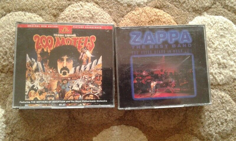 Rare Frank Zappa cds priced individually for sale