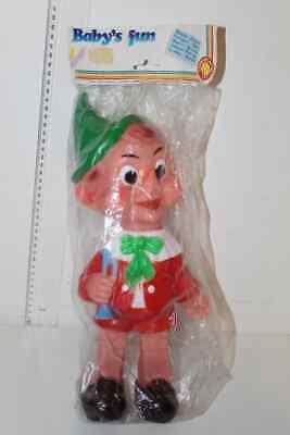Acquista A Buon Mercato Pinocchio Ledraplastic Vintage Toy Ledra Vecchi Ricordi Sigillato Sentirsi A Proprio Agio