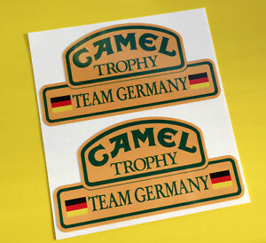CAMEL TROPHY Team GERMANY 4X4 OFF ROAD STICKERS DECALS Land Rover Defender