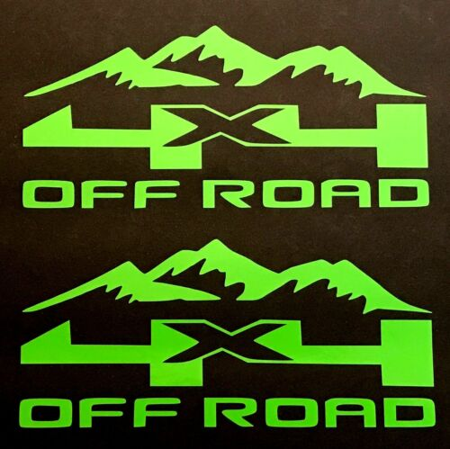 4X4 OFF ROAD DECALS STICKER FORD F-150 CHEVY SILVERADO DODGE RAM TOYOTA TACOMA