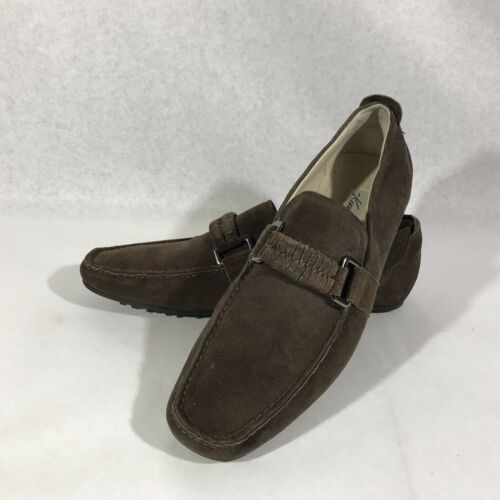 Kenneth Cole Turbo Jet 9.5 Leather Loafers - image 1