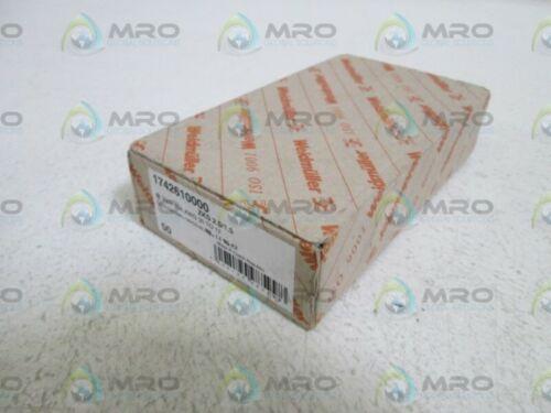 Lot de 50 Weidmuller Terminal Block 1742610000//ZKS 2.5//1.5 NEW IN BOX *