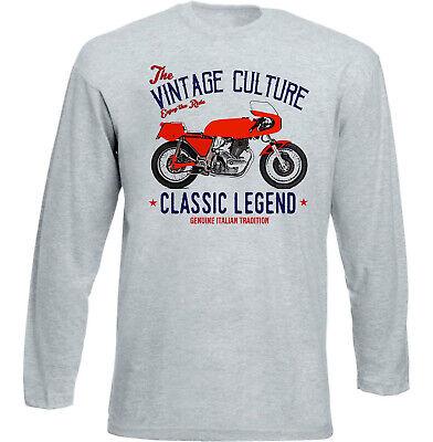 Vintage Laverda 750 CF Motorrad Sweatshirt