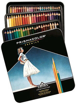 Prismacolor Premier Pencils 132 Colored Pencils 4484 Slightly Dented Tins