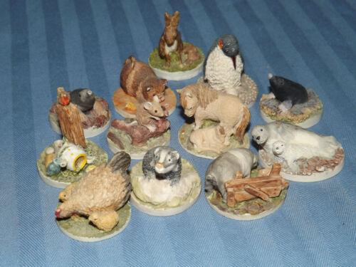 Colour Box miniature animals Peter Fagan colourbox FREE UK POSTAGE