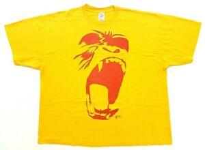Vintage S.B.T. Gorilla 2005 Tee Yellow Size 3XL Mens T-Shirt