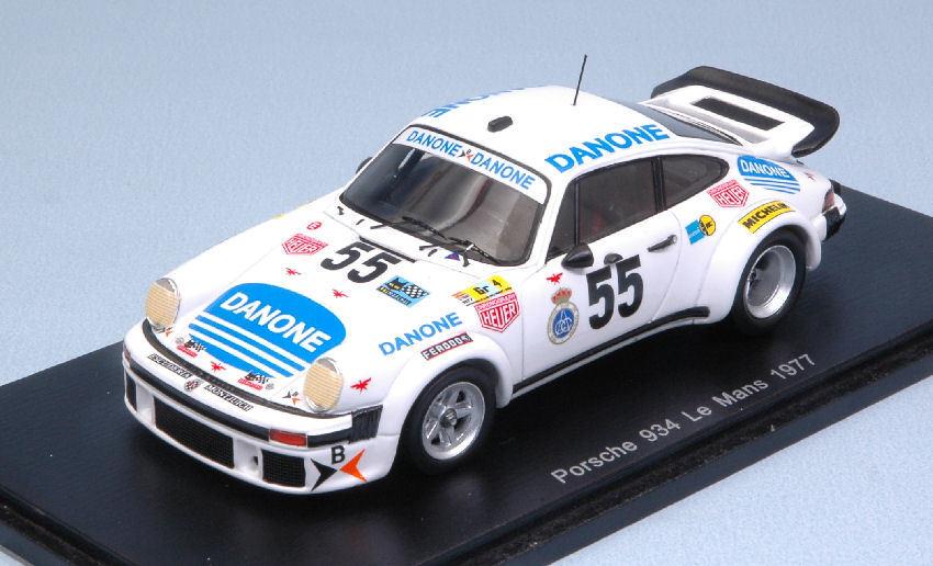 Porsche 934  55 Dnf Lm 1977 J. Fernandez   E. Baturone   R. Tarradas 1 43 Model