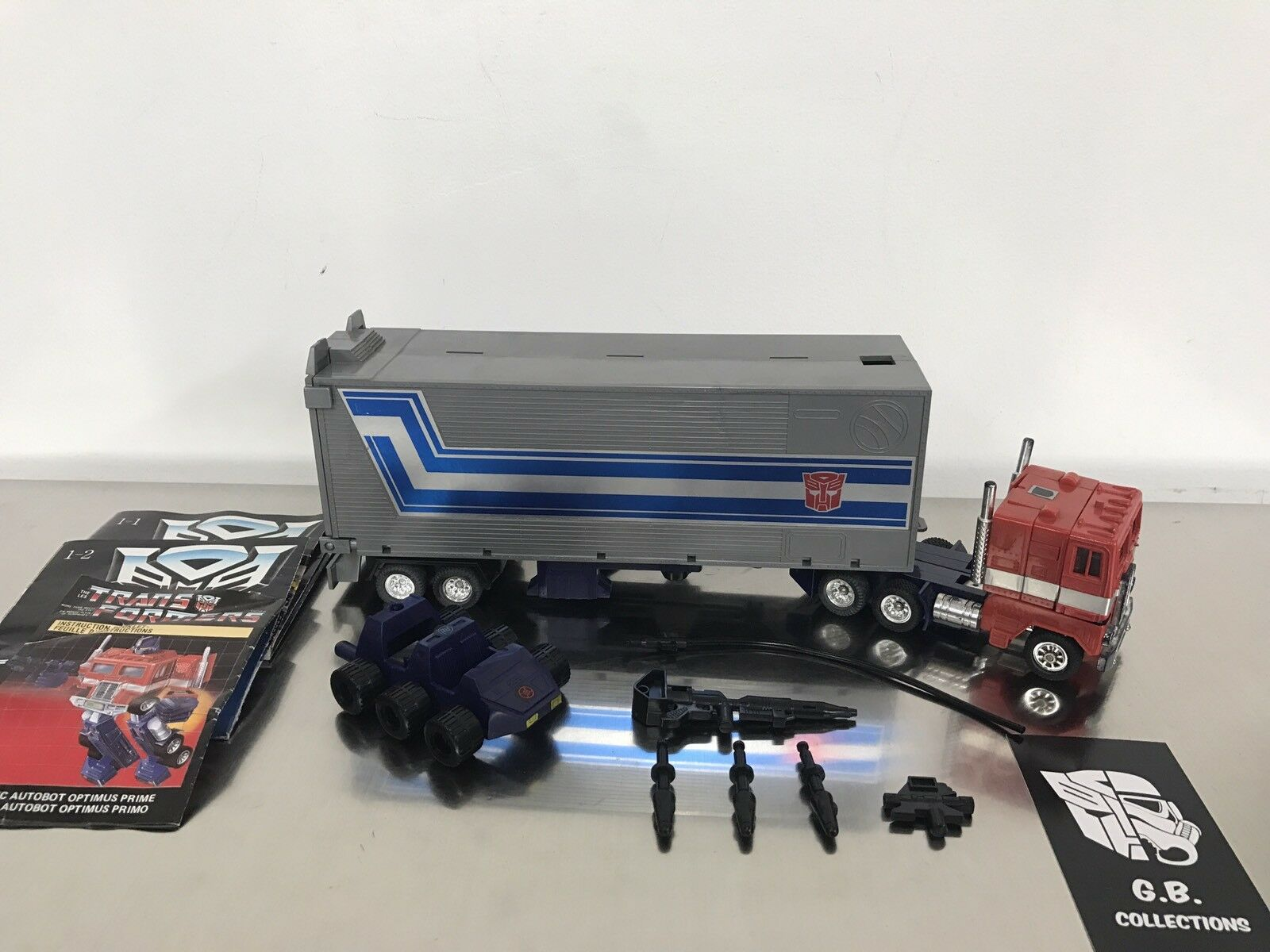 G1 transformers optimus prime 98% komplett - autobot - leader -