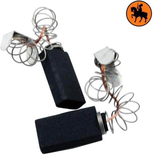 5x10x18mm Kabel und Stecker Mit Federn Kohlebürsten für AEG /& Atlas Copco