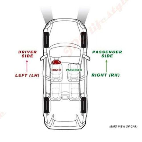 NEW Fit 79-86 Mustang Capri Driver Side Left Replacement Door Mirror Glass#2410