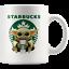 thumbnail 1 - STARBUCKS Baby Yoda Funny Yoda Starbucks Coffee Mug Gift|Star Wars Yoda Fan Gift