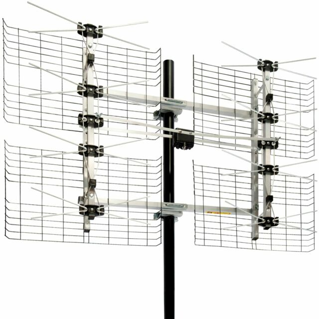 Antenna DB8 Multi Directional HDTV TV Over Air Attic Outdoor Roof Mount Home New