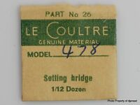 Jaeger Lecoultre Set Bridge Cal. 478 Part 26