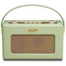 New Roberts Revival RD60 FM DAB Portable Radio Leaf Green -Retro 50's - RD-60