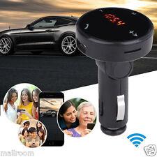 Auto MP3 Musik Wireless Bluetooth FM Transmitter LCD SD USB Lade Fernbedienung