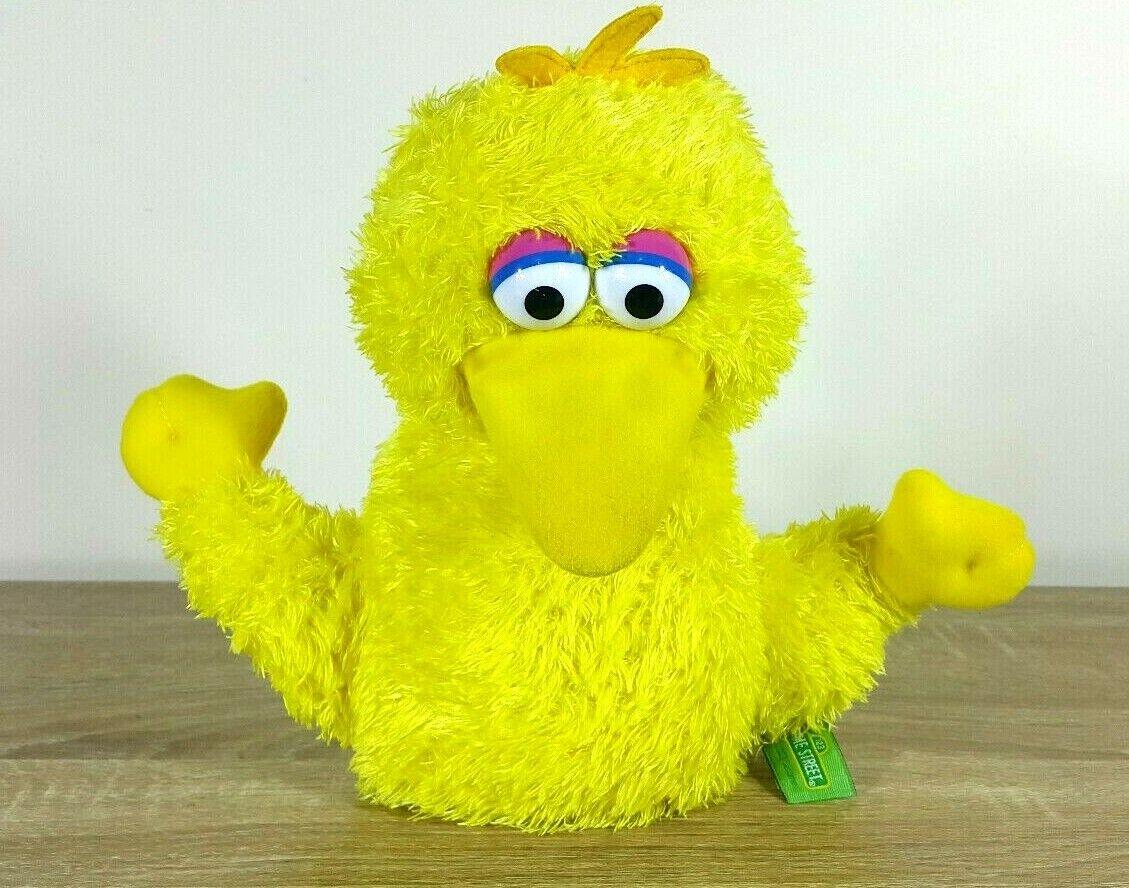 Big Bird Sesame Street Gund Hand Dollt Soft Toy 24CM 2003 RN075852
