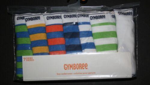 New Gymboree 7 Pack Pairs Underwear Briefs NWT Boys 3 4 5 6 7 8 10 12 Stripes