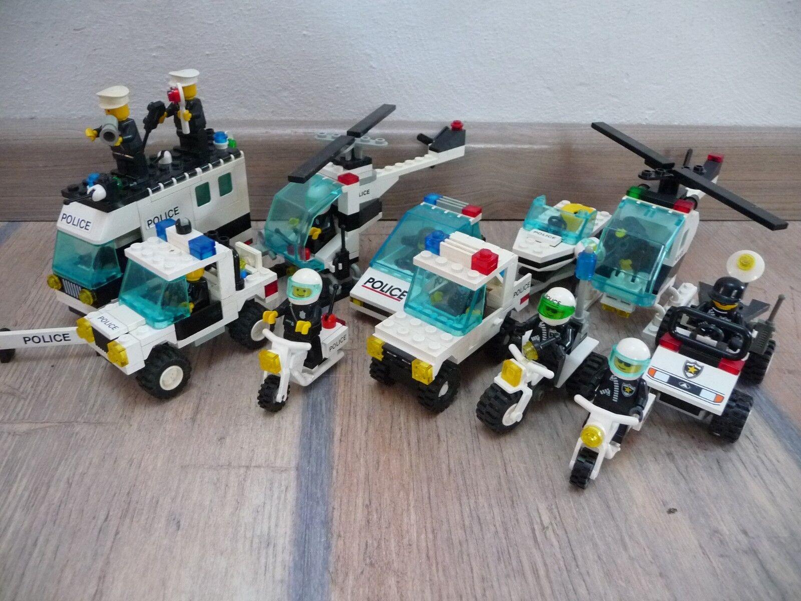 LEGO City Polizei großes großes großes Set 1297+6324+6328+6354+6430+6533+6625+6642+6676 de2f8f