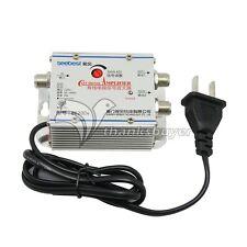 SB-8620D6 2 way CATV Signal Amplifer Sat Cable Signal Amplifier Splitter Booster