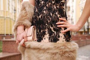 foto ufficiali presa all'ingrosso prezzo scontato Dettagli su Zara CAMEL PELLICCIA SINT maxi stola nuovo con etichetta-  mostra il titolo originale