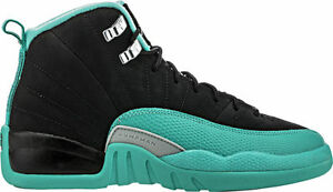 Nike Big Kids' Air Jordan RETRO 12 GG HYPER JADE Shoes 510815-017 a