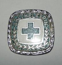 Abzeichen Arzthelferin ges. gesch. grünes Kreuz