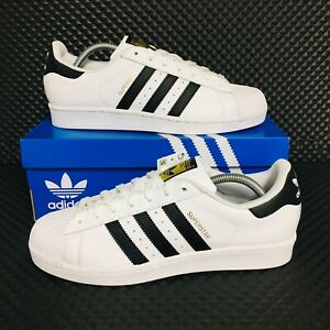 NEW-Adidas-Originals-Superstar-Men-s-Athletic-Sneakers-White-Shell-Toe-Shoes
