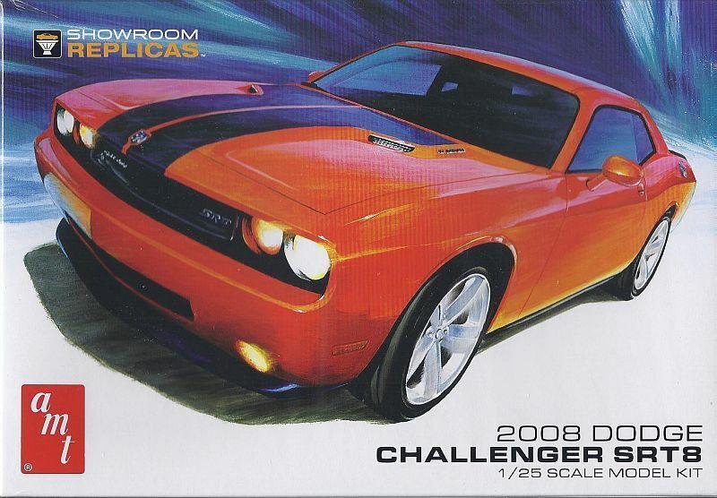 Dodge Challenger SRT8 2008, Plastic Model Kit, Model Car 1 25   Amt