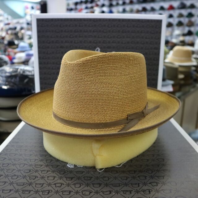 b7d7dc629 STETSON STRATOLINER SPECIAL EDITION SAND C-CROWN DRESS HEMP STRAW HAT