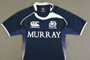 f3779660f62 Image is loading Canterbury-SCOTLAND-Rugby-Union-Home-Shirt-SIZE-M-