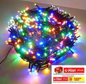 75M 1000LED MULTICOLOR CHASING CHRISTMAS LIGHTS WITH 8 FUNCTIONS & MEMORY
